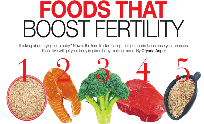foods that increase fertility in bangalore